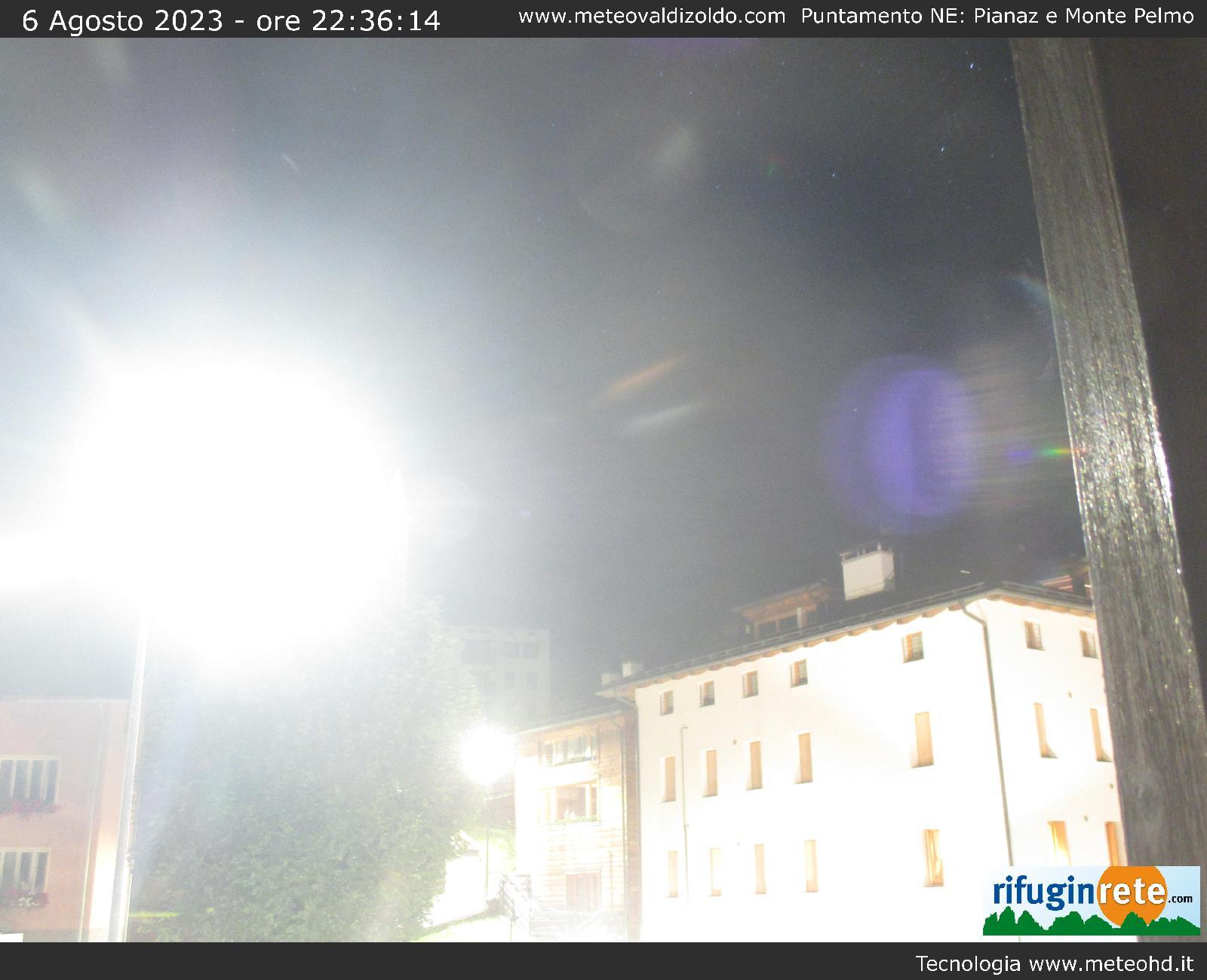 Webcam Zoldo Alto - centro paese